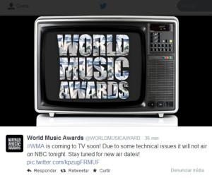 Tweet WMA 2014
