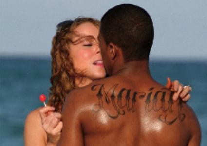 Tatuagem-Nick-Cannon-coloca-o-nome-Mariah-nas-costas