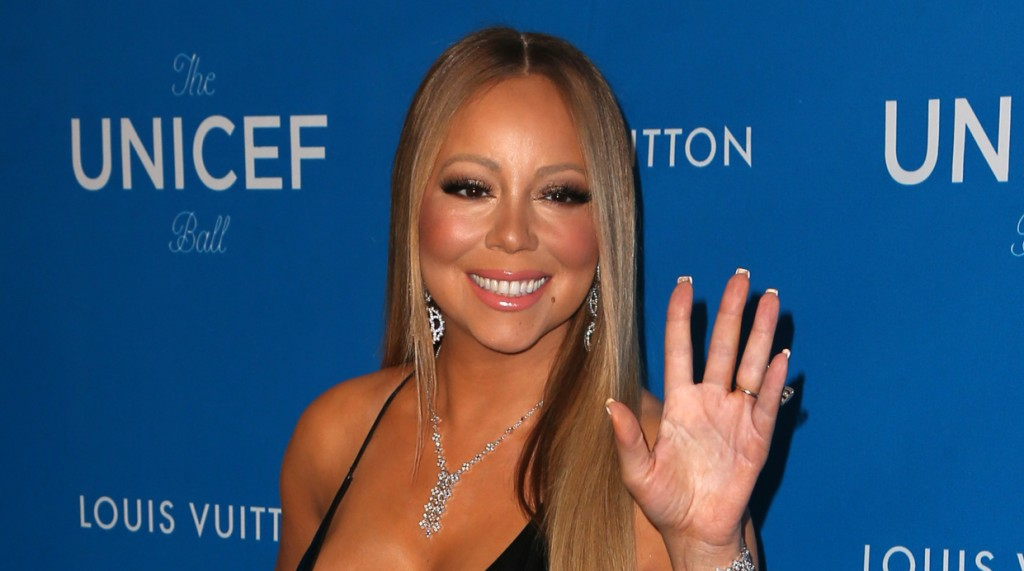 January 12, 2016: Mariah Carey at the 6th Biennial UNICEF Ball at the Beverly Wilshire Four Seasons Hotel, Beverly Hills, CA. Mandatory Credit: INFphoto.com Ref.: infusny-244/RTNSadou