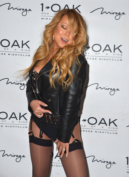 LAS VEGAS, NV - JUNE 26:  Singer/songwriter Mariah Carey arrives at 1 OAK Nightclub at the Mirage Hotel & Casino to debut her DJ set on June 26, 2016 in Las Vegas, Nevada.  (Photo by Mindy Small/FilmMagic)
