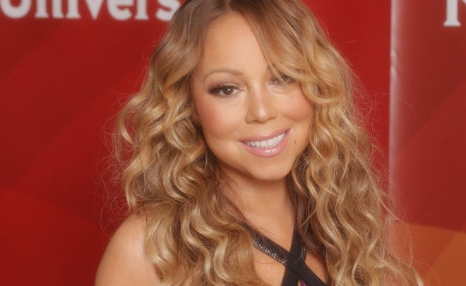 """NBCUNIVERSAL EVENTS -- NBCUniversal Summer Press Tour, August 3, 2016 -- E!s, """"Mariah's World"""" cast -- Pictured: Mariah Carey -- (Photo by: Chris Haston/NBCUniversal)"""