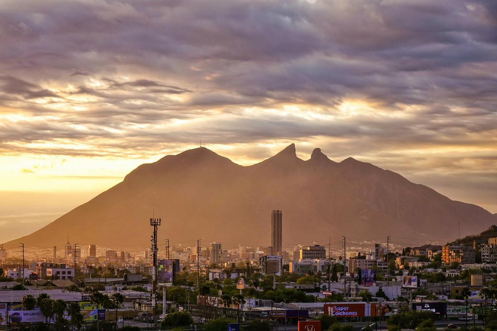 El Cerro de la Silla em Monterrey, México.