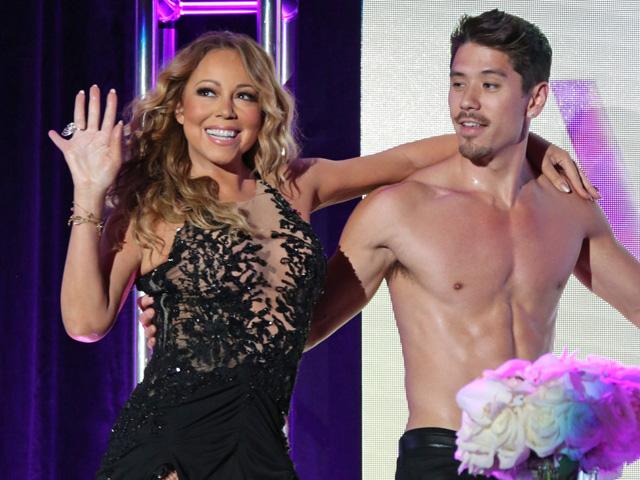 Mariah Carey e Bryan Tanaka; juntos além dos palcos | Getty Images